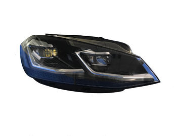Aftermarket Auto Led Replacement Headlights 12 Volt For VW Golf Mk 7.5 / 7